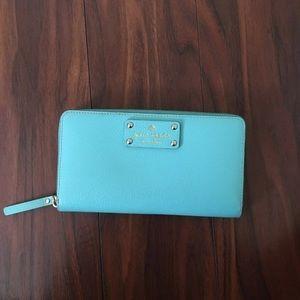 Kate Spade team/Tiffany blue long wallet